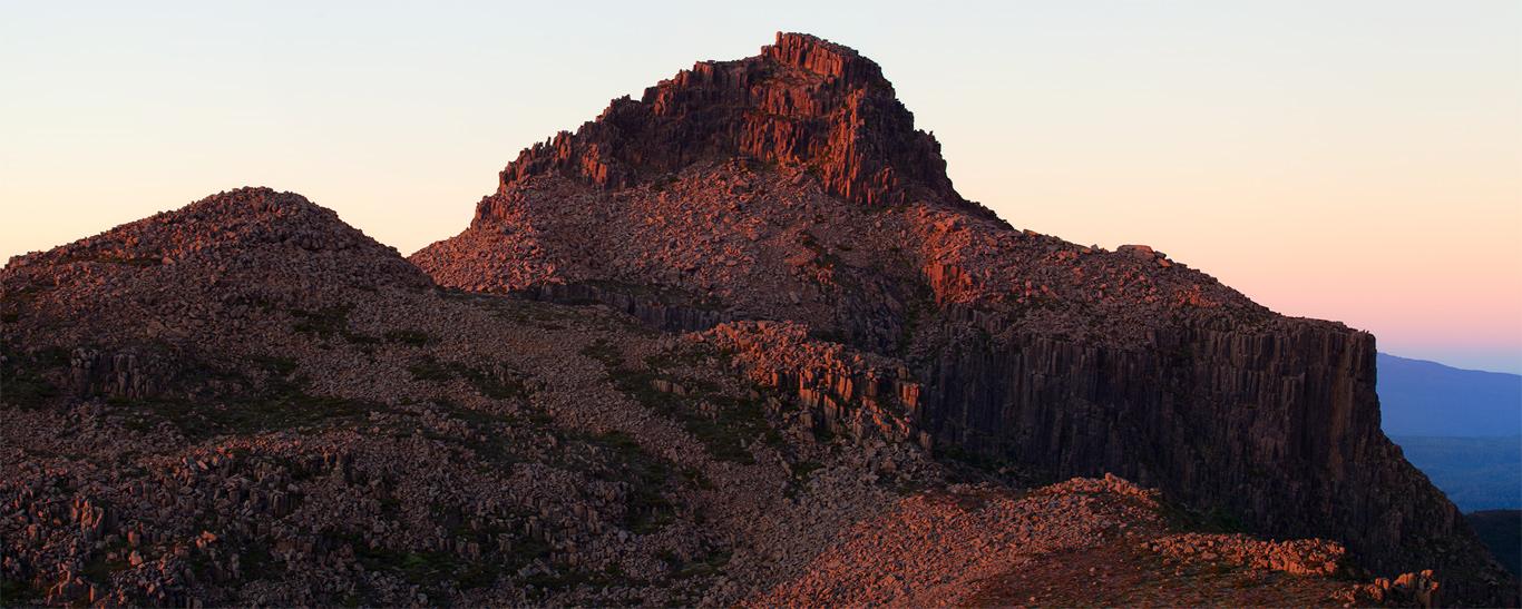 Mt. Anne by Tristan Stuart