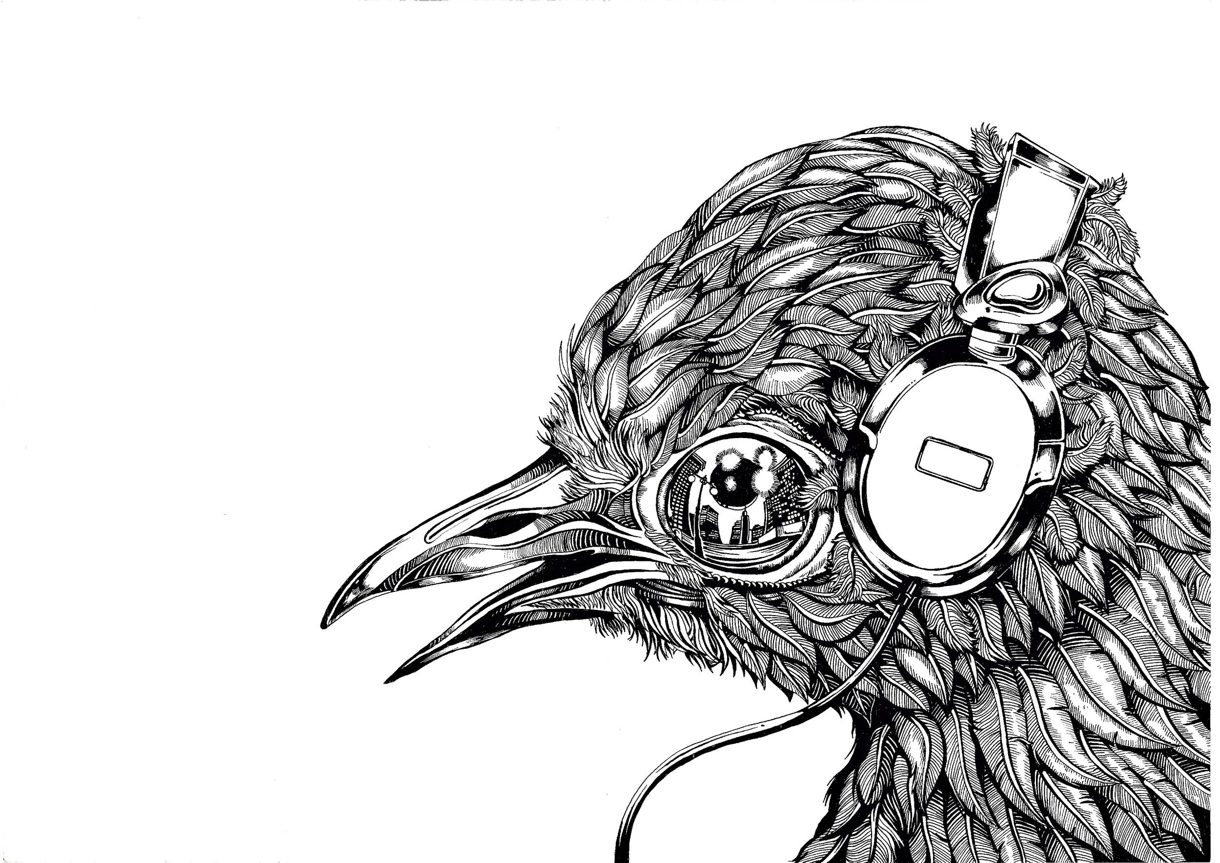 Lyrebird (Screen Print)