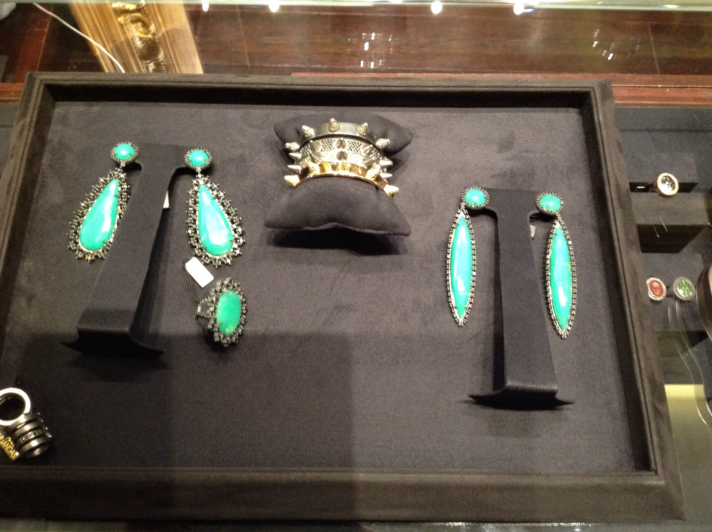 Jewellery Collection at Anil Arjandas' Mayfair store