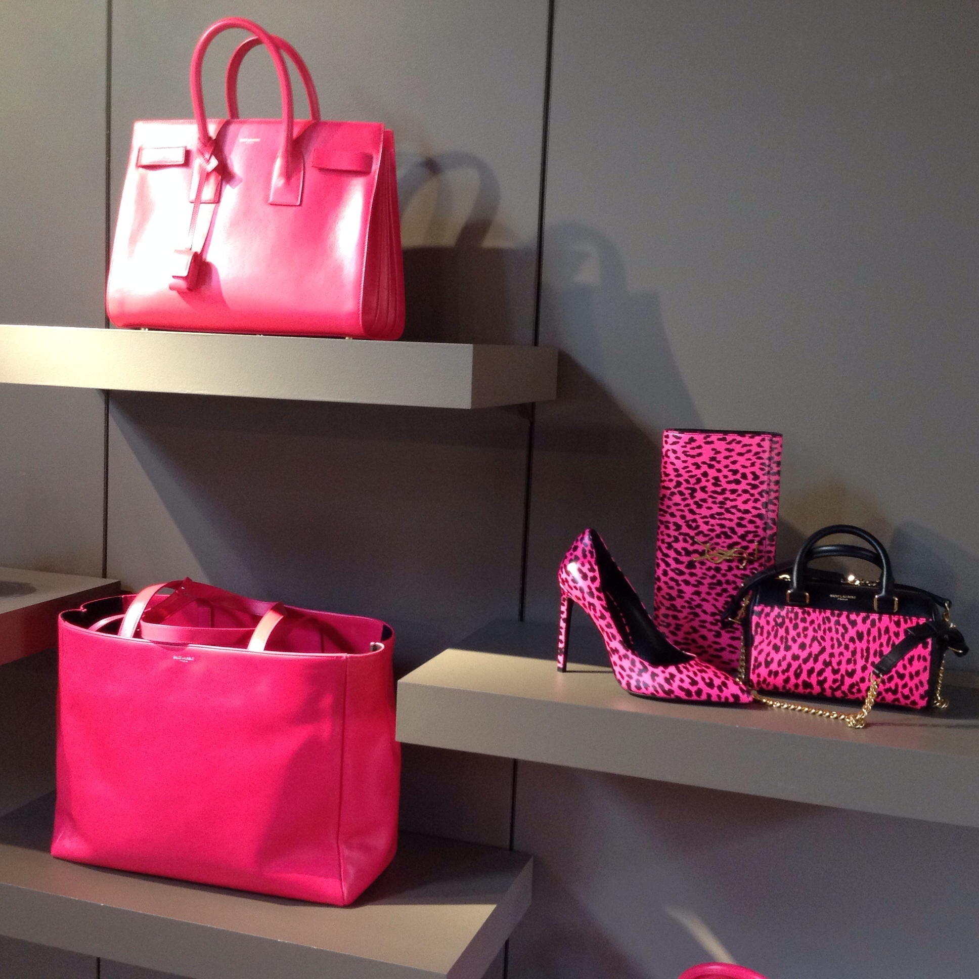 Pink accessories at The Webster on Collins, Miami