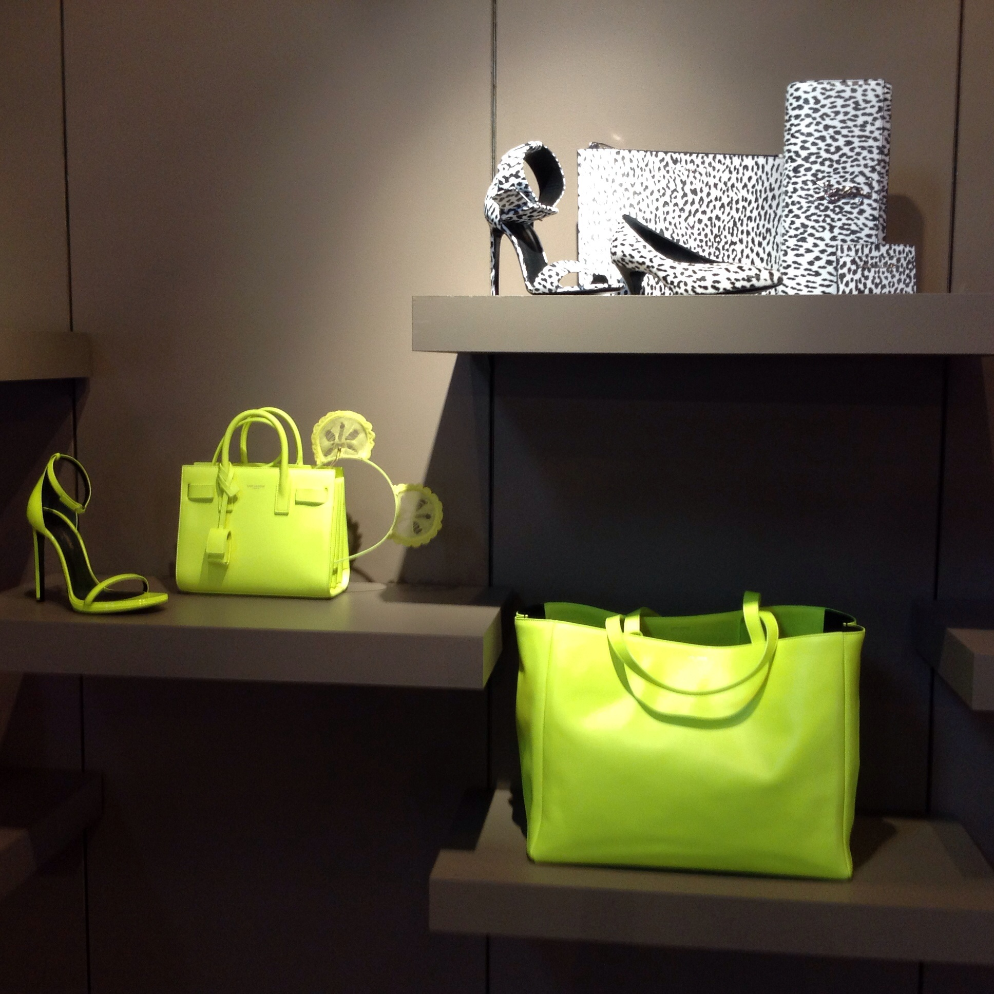 Black & White and Fluorescent Accessories at The Webster on Collins, Miami