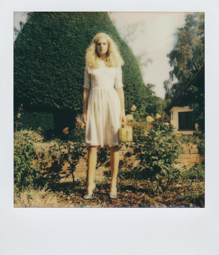 London Stylist Ellie Lines Silk Tea Dress