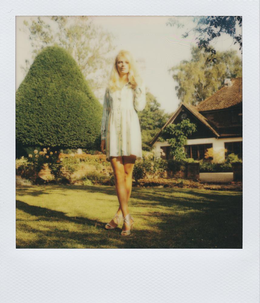 London Stylist Ellie Lines Silk Dress