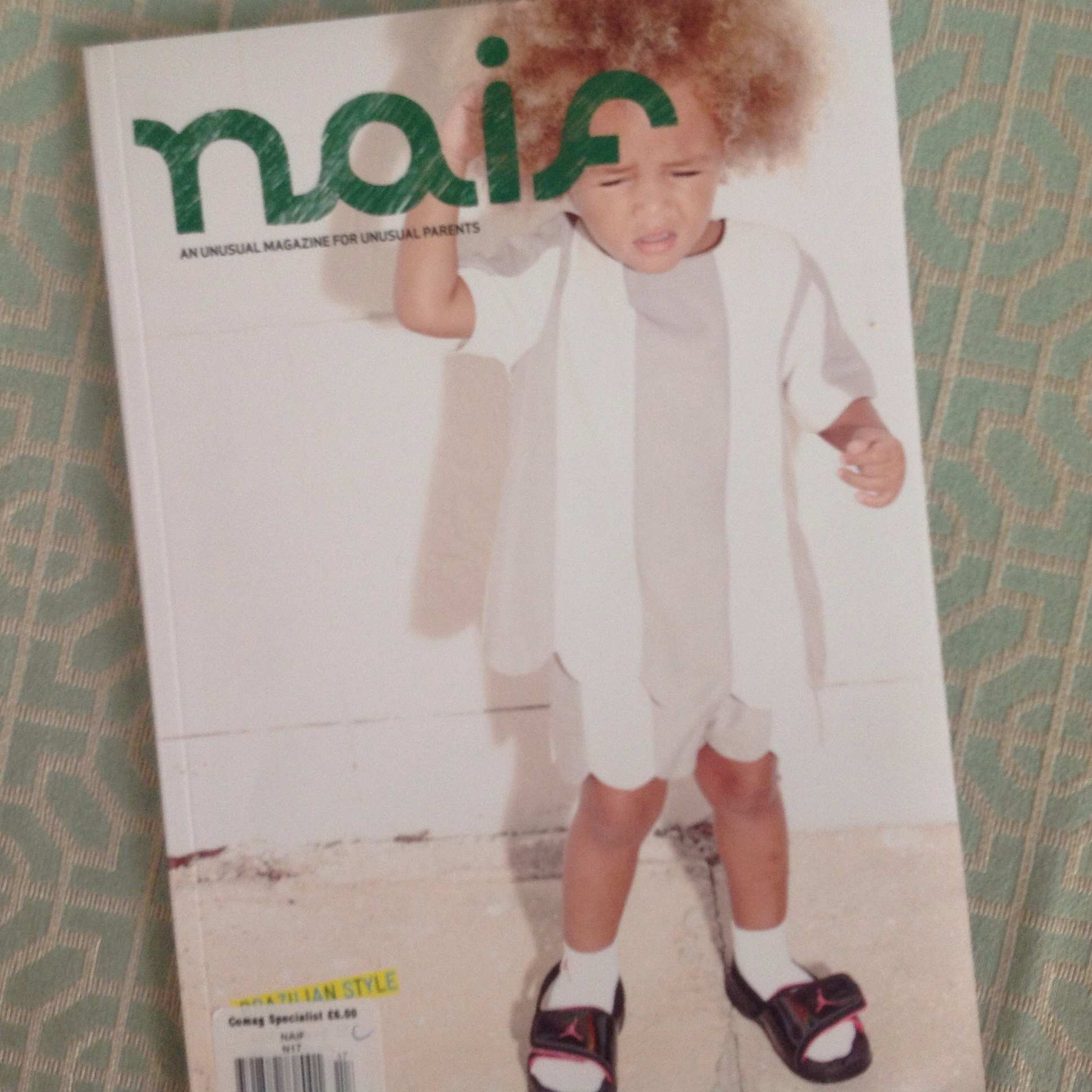 Naif magazine cover styled by Ellie Lines