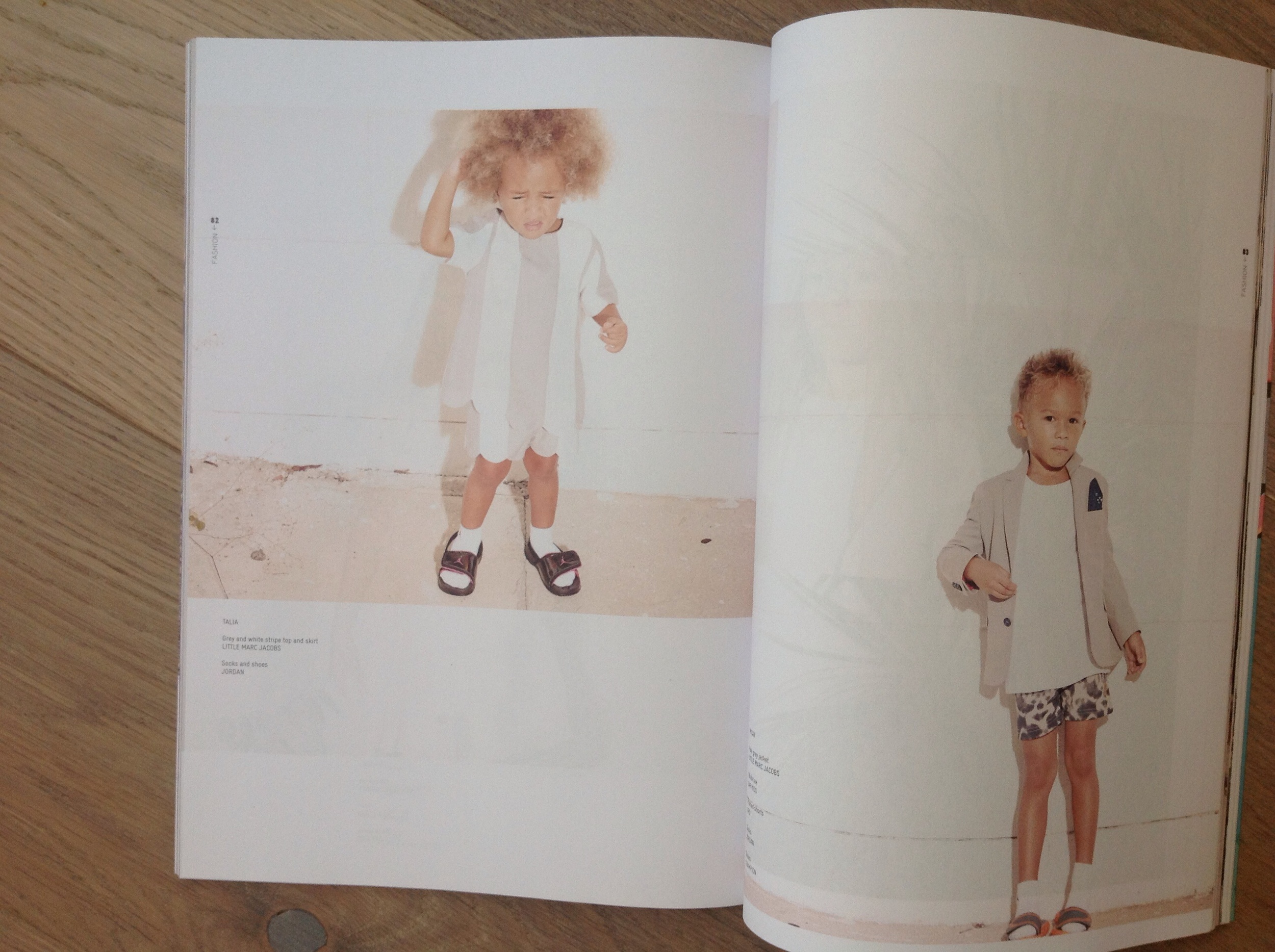 Naif magazine story styled by Ellie Lines