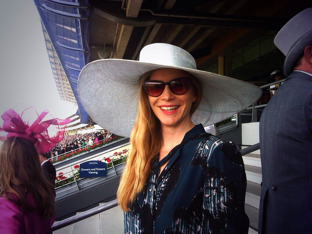 Stylist Ellie Lines at Royal Ascot