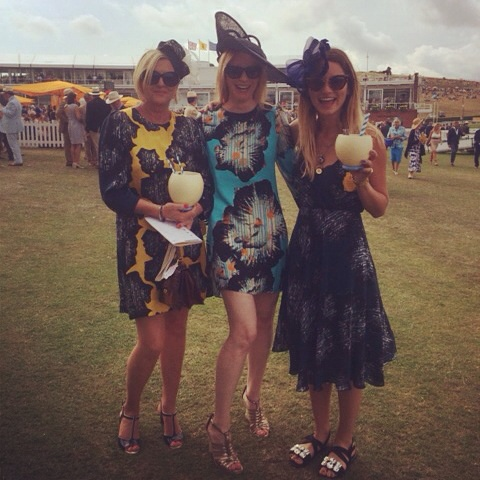 Ellie Lines at the races