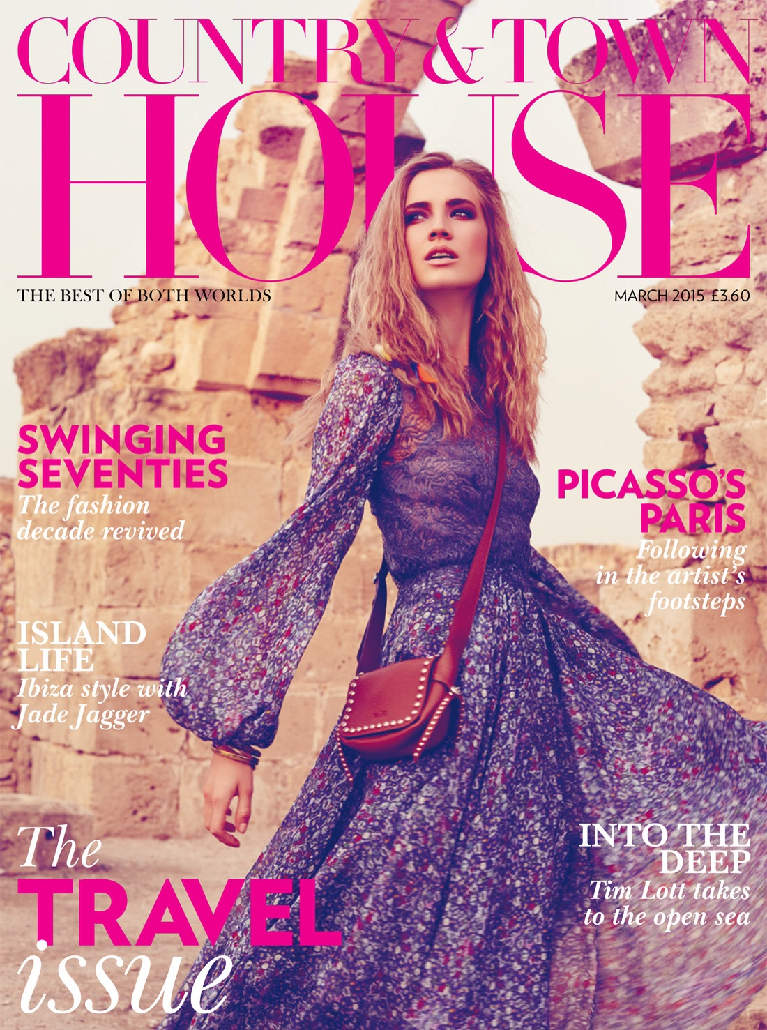 Front cover of the March 2015 issue of Country & Townhouse Magazine