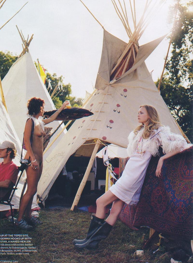 Corrine Day Festival Inspired Photo Shoot