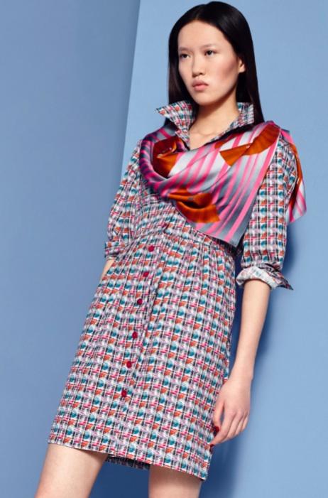 Fashion Designer Ellie Lines AW15 Collection - Gemma dress