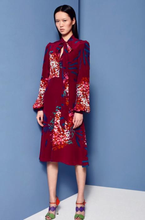 Fashion Designer Ellie Lines AW15 Collection - Julia dress