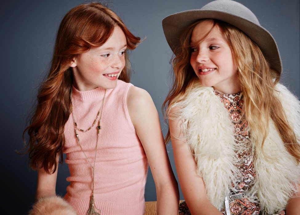 River Island Kids AW15 campaign styled by Ellie Lines