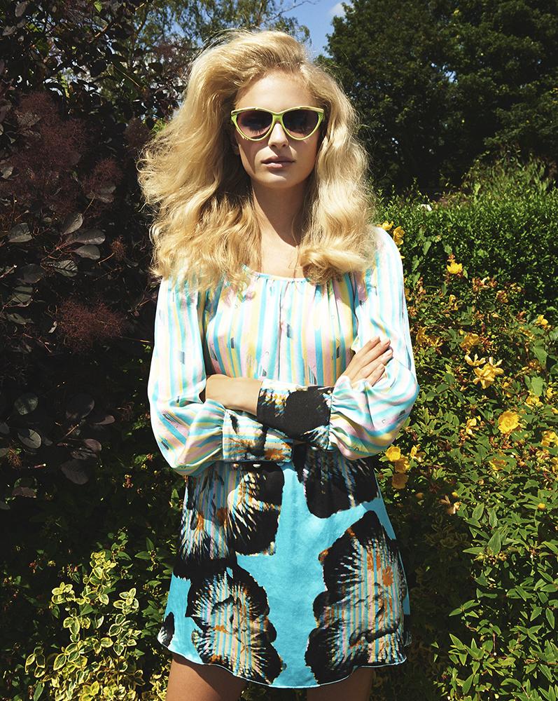 Ellie Lines Debbie silk dress