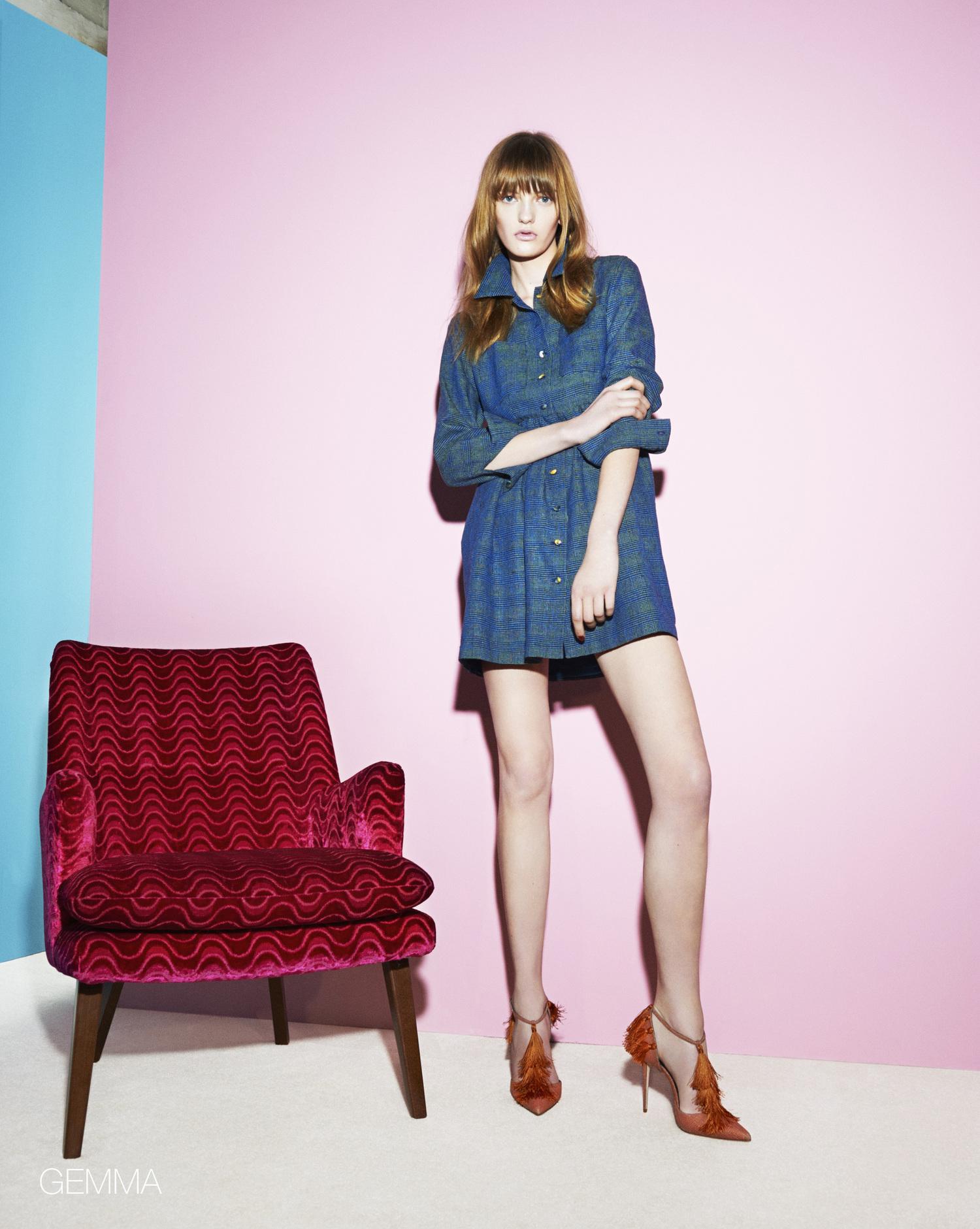 Ellie Lines Gemma Silk dress