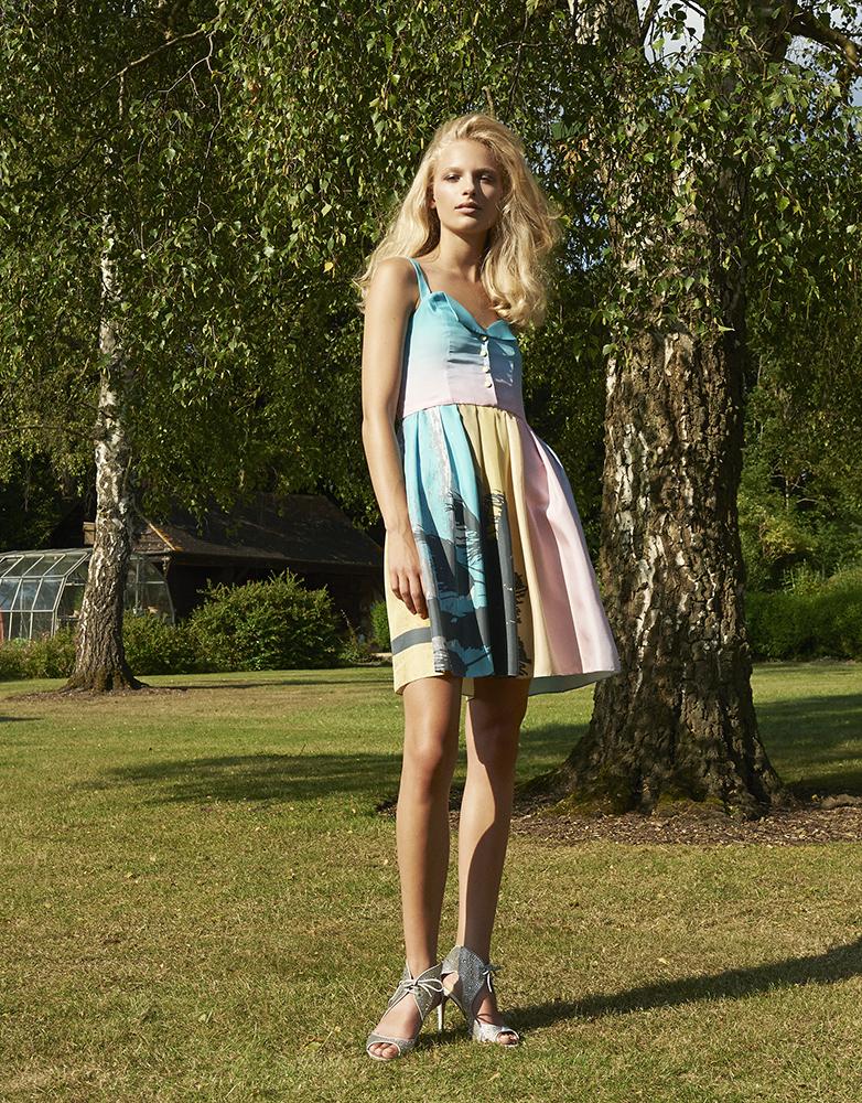 Ellie Lines Catherine silk dress