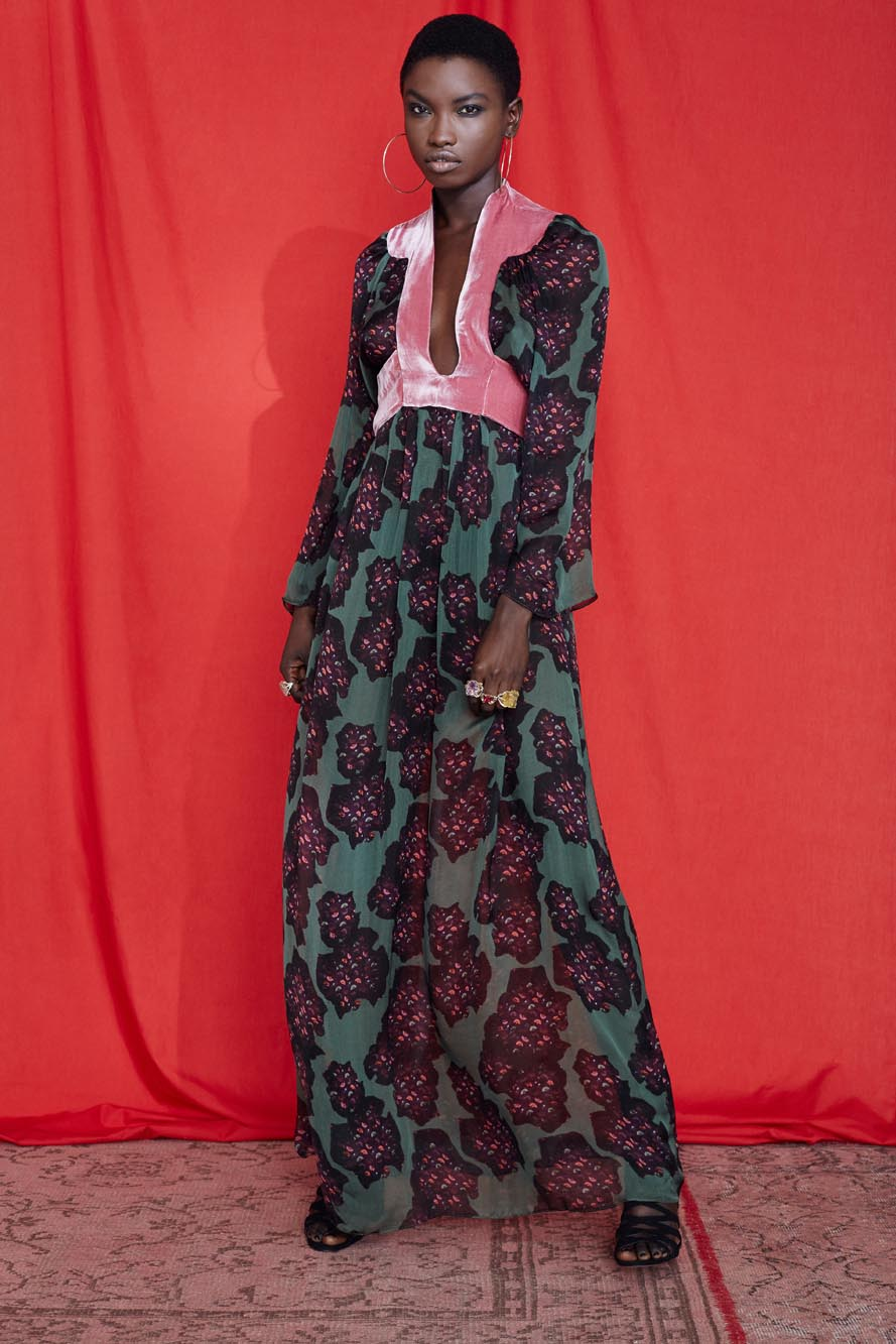 Fashion Designer Ellie Lines Deia Targa Collection - Ellie Maxi Dress
