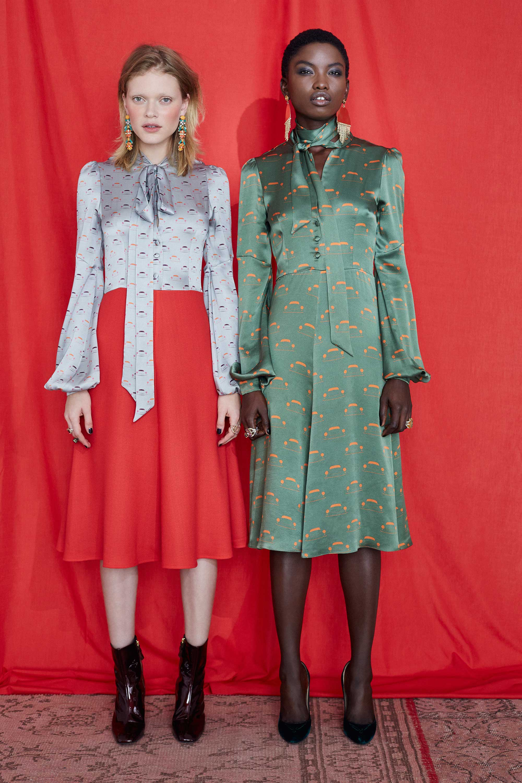 Fashion Designer Ellie Lines Deia Targa Collection - Julia Silk Dress