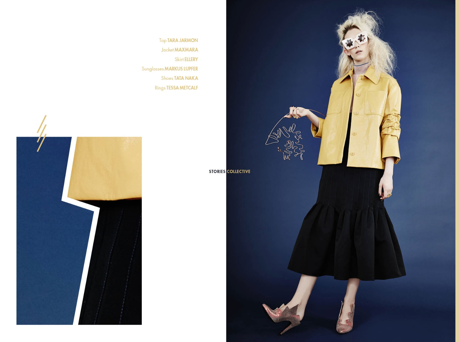 Stories Collective Magazine story styled by London Stylist Ellie Lines