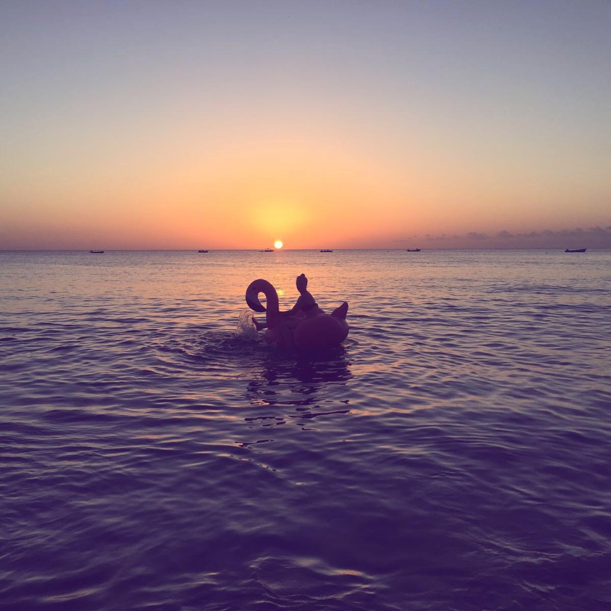 Sunset in Barbados