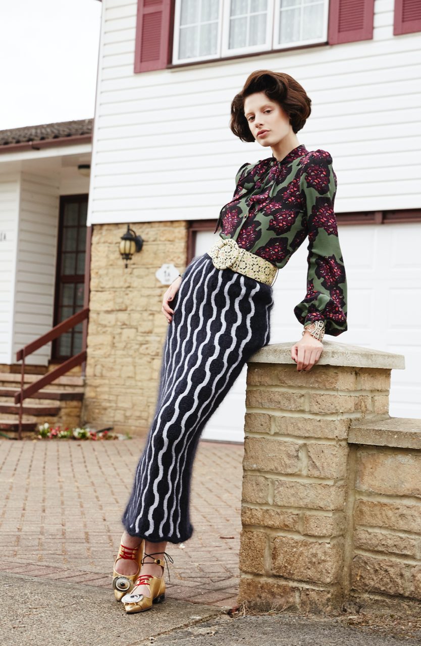 Tina blouse featured in Streets Magazine