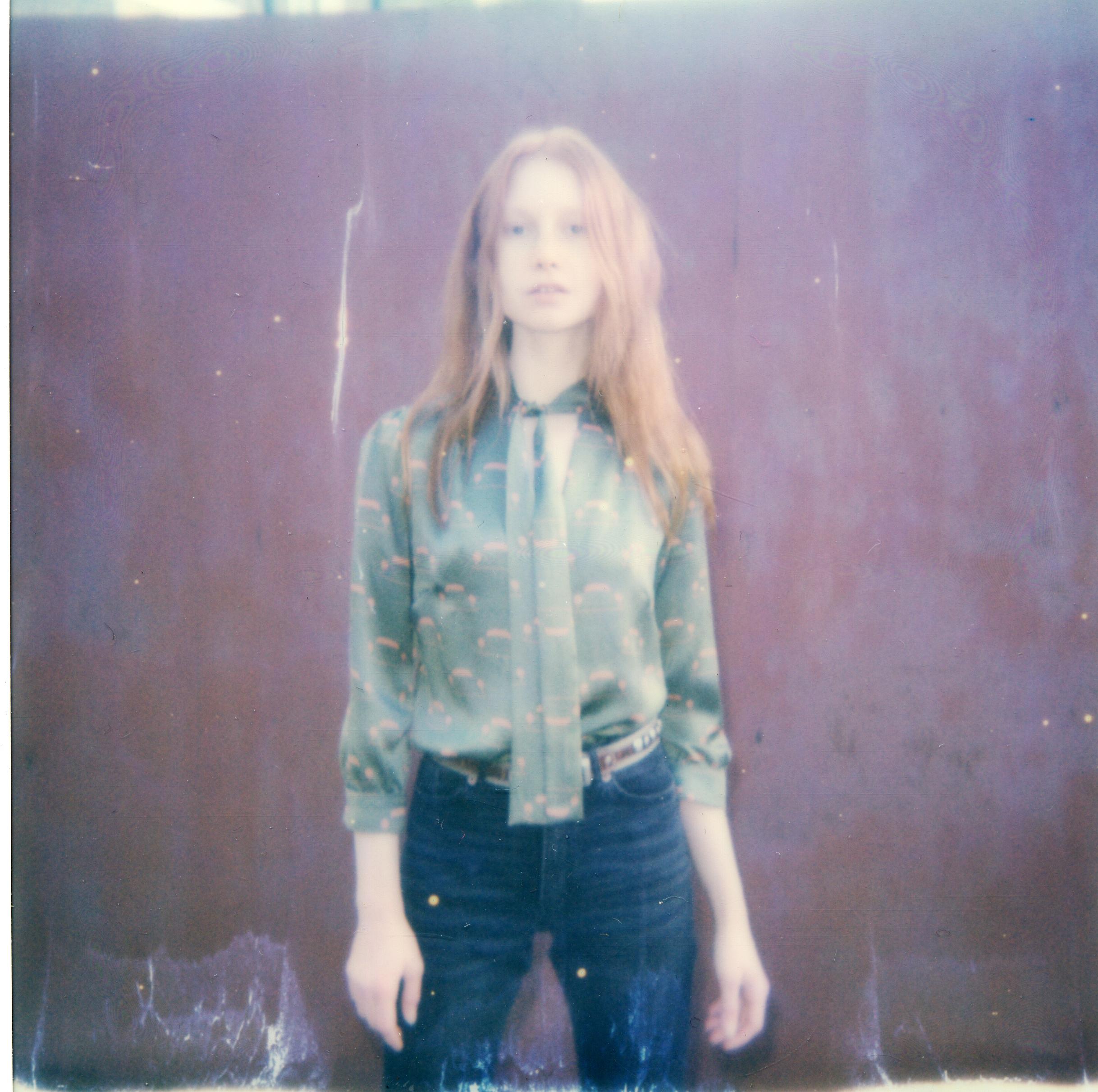 Luxury Fashion Designer Ellie Lines' silk Maddie blouse