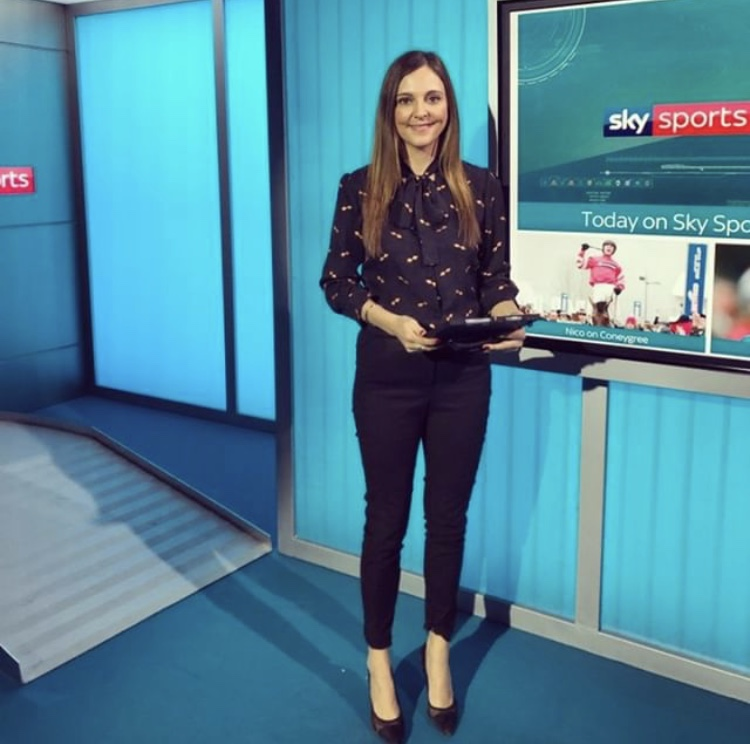 Gina Bryce winning the style stakes in the Maddie blouse -