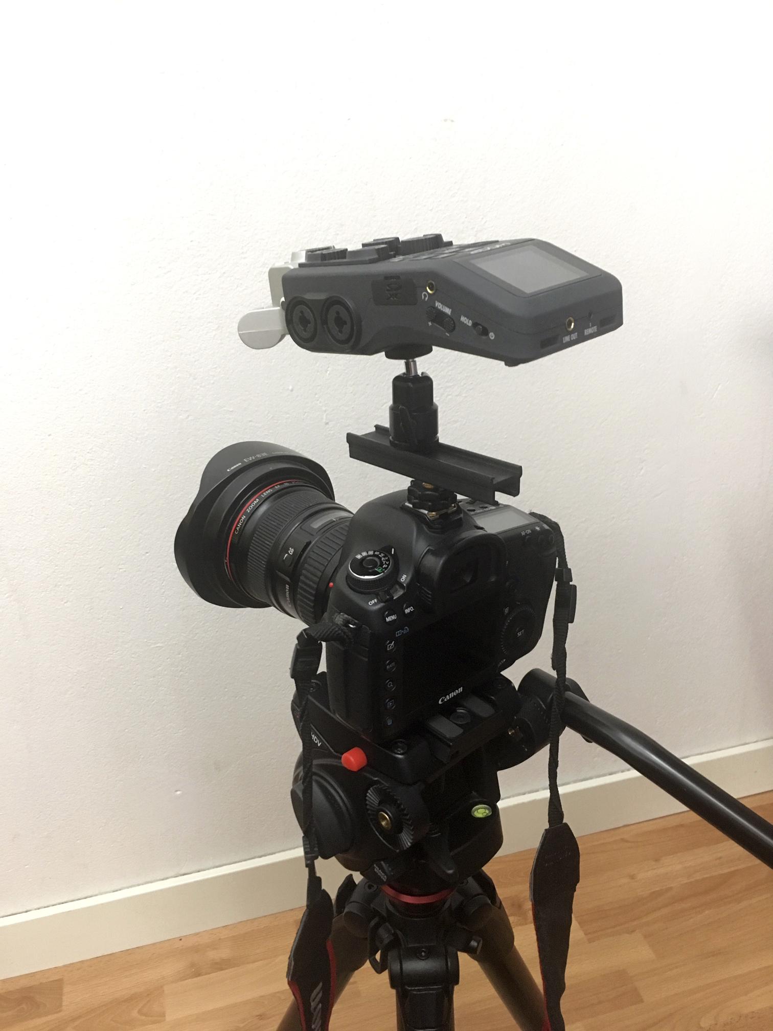 Med en Zoom H6 kan fotograf Johan Wahlgren spela in högkvalitativt ljud