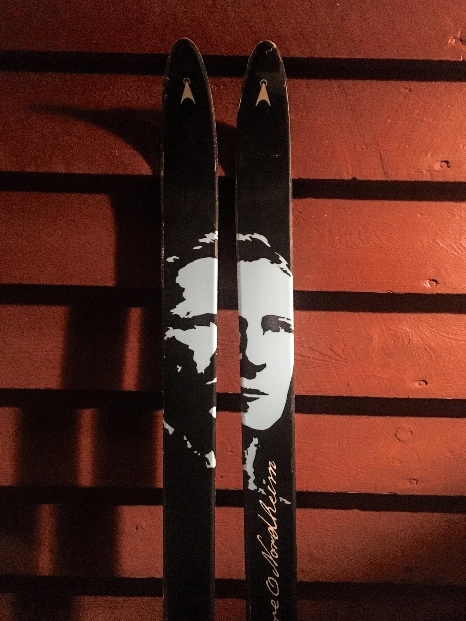 Skidor Foto: Johan Wahlgren