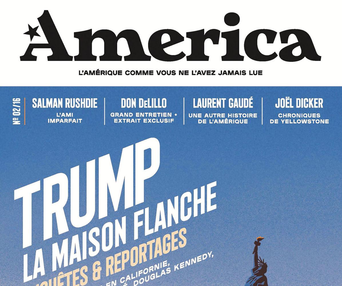 L'AMÉRIQUE COMME VOUS NE L'AVEZ JAMAIS LUE - PAGE VISUELLE EDITORIALE,NUMÉRO 2 (2017)