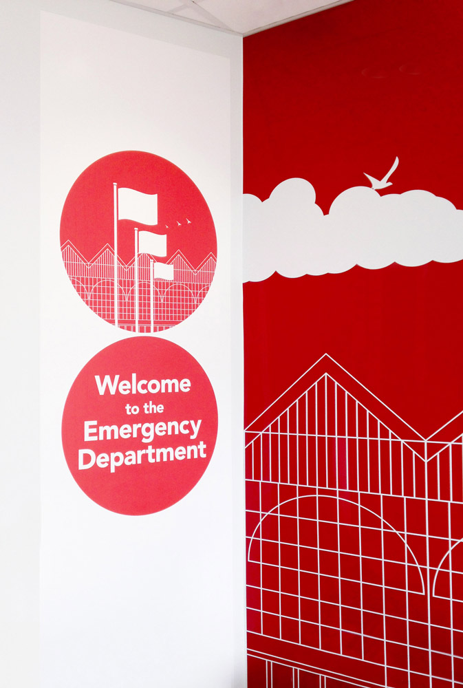 ST-THOMAS HOSPITAL - Visuals,murals &motion design for the St Thomas Hospital in London (2015-2018)