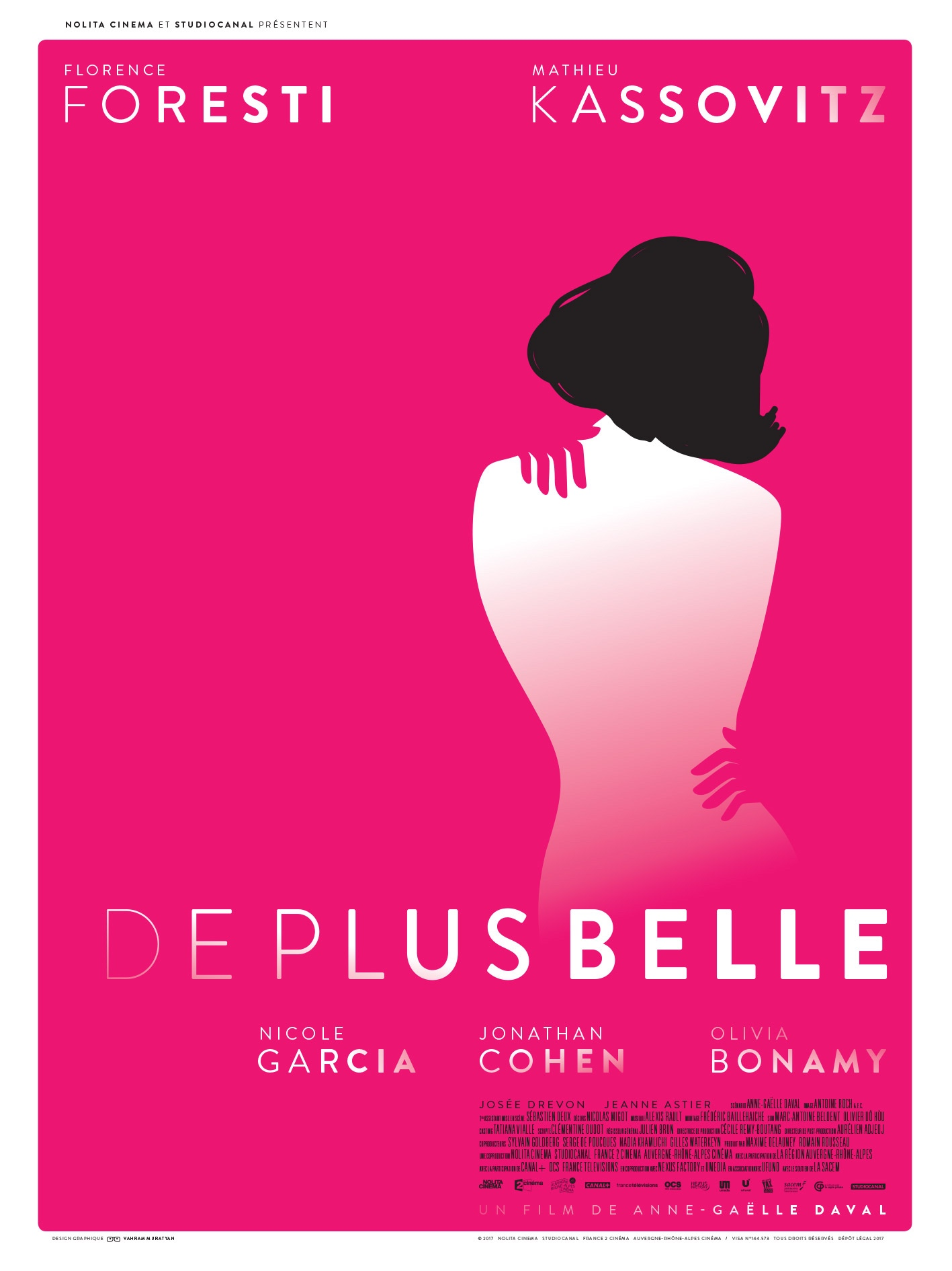 De Plus Belle (Ladies). Movie poster design.