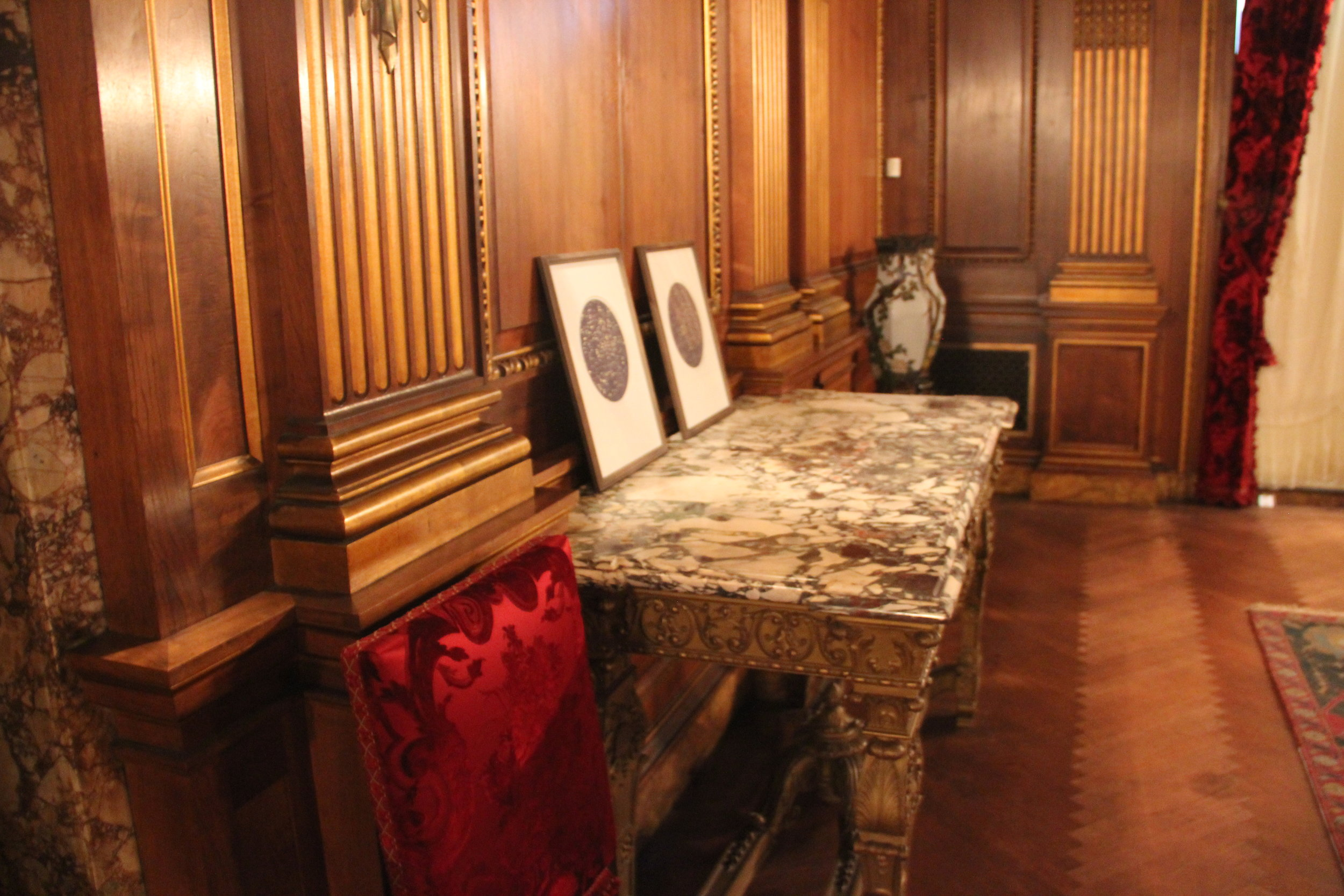 Installation View, Vanderbilt Mansion Museum, Hyde Park, NY 2015