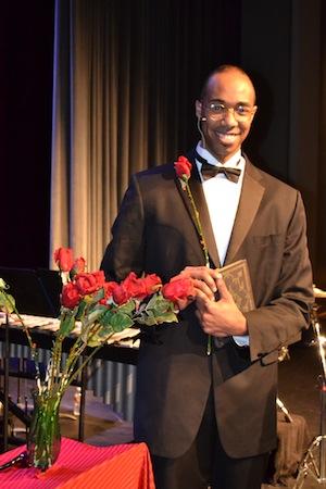 As Aaron Douglass in  Of Ebony Embers