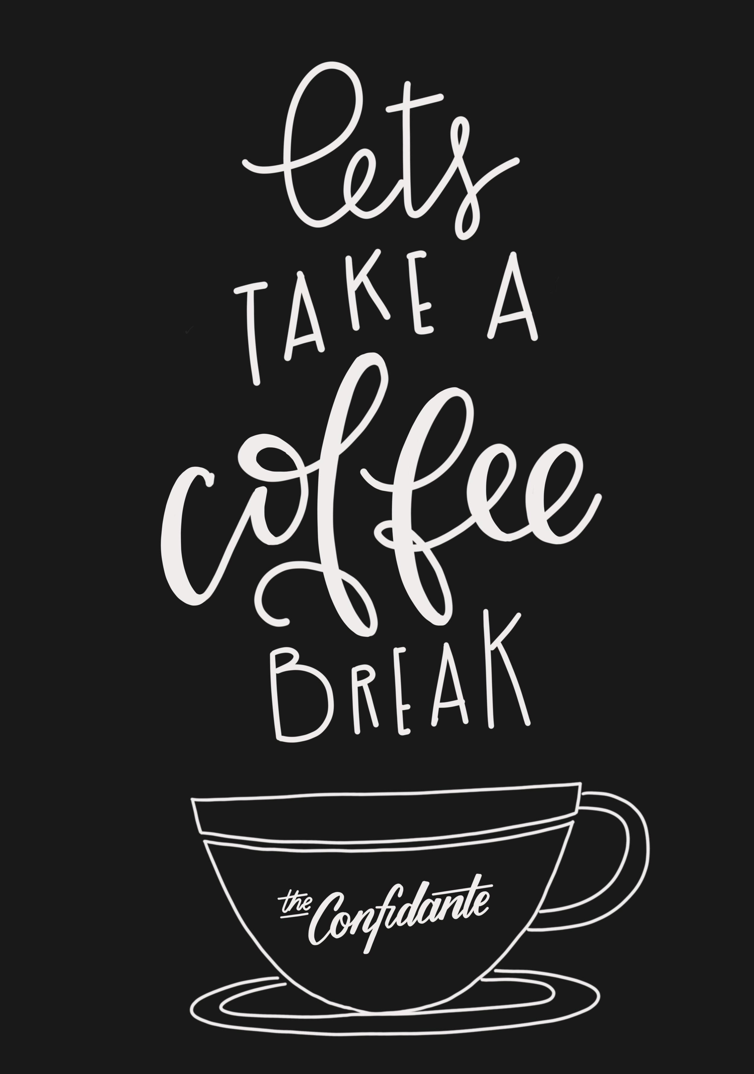 Handlettering - Coffee Break.jpeg