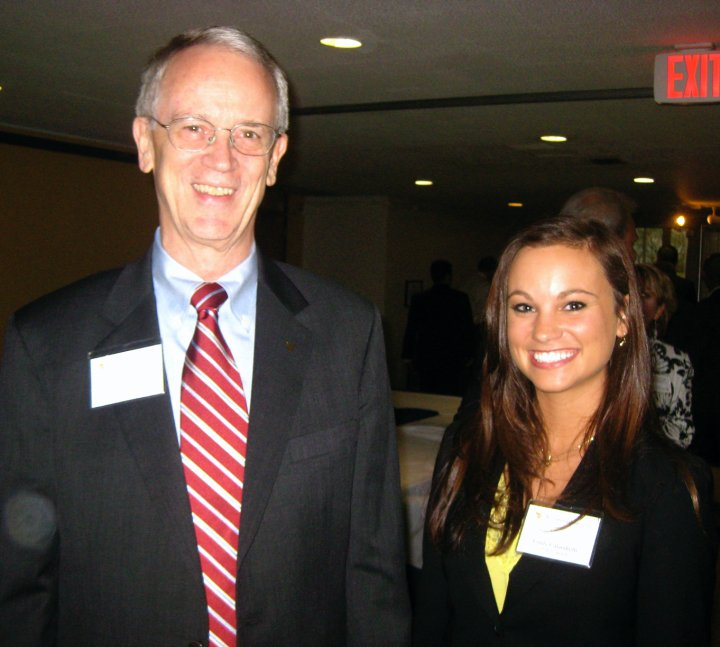Meeting Chuck Vest in 2010 when he came to WVU for a talk by Norm Augustine