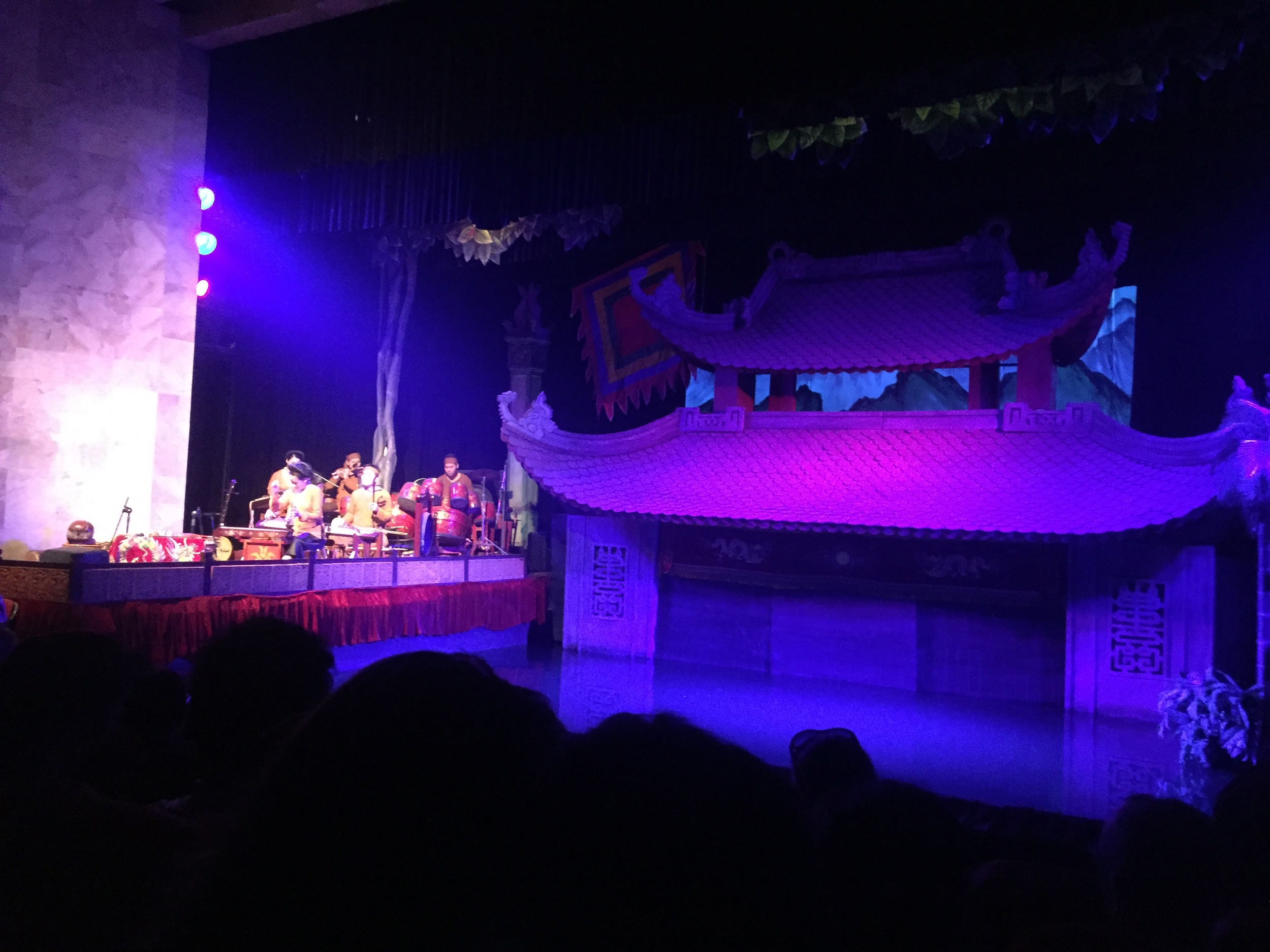 Waterpuppet show!