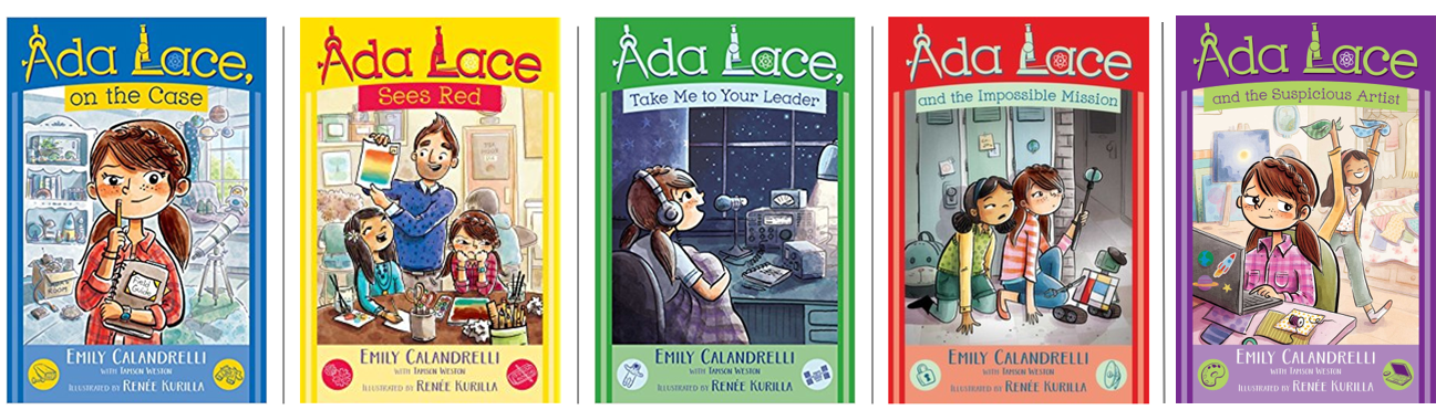 Ada Lace STEM Mystery Books   Obviously, I' highly recommend my STEM-driven Ada Lace books as a gift for any 6-10 year olds in your life! They'll be so engulfed with the story that they won't realize they're learning about science and tech along the way!