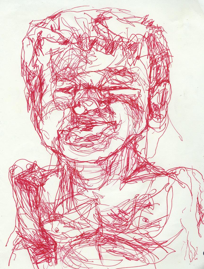 """Self Portrait as Boy""          Dove Drury Hornebuckle"