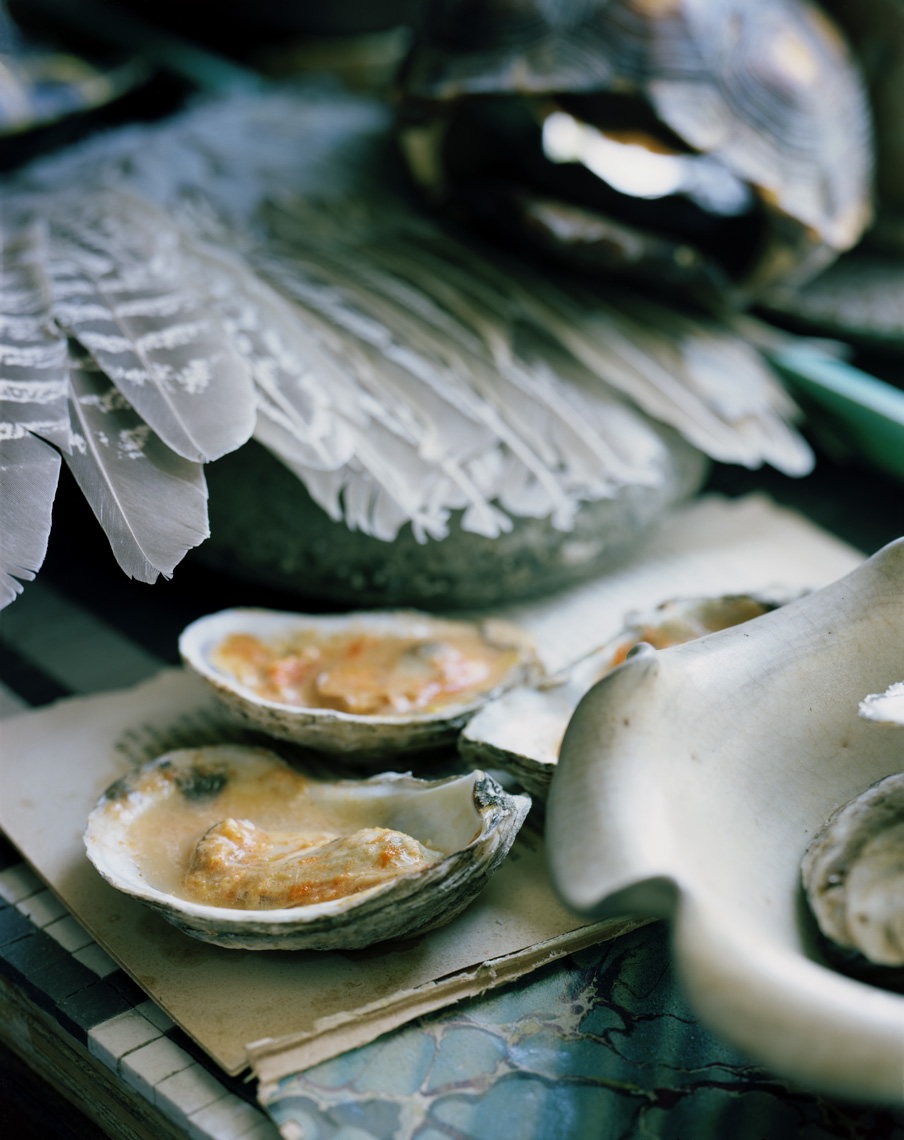 """""""Spicy Baked Oysters""""                   Martyn    Thompson"""