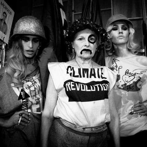 """  Vivienne Westwood Climate Revolution  """