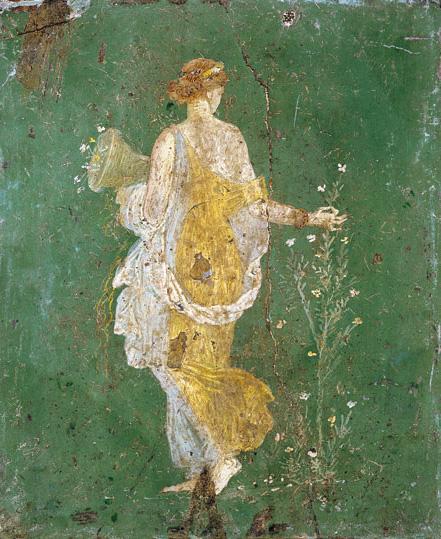 """  Say Yes to Springtime  ""            Flora Goddess of Spring"