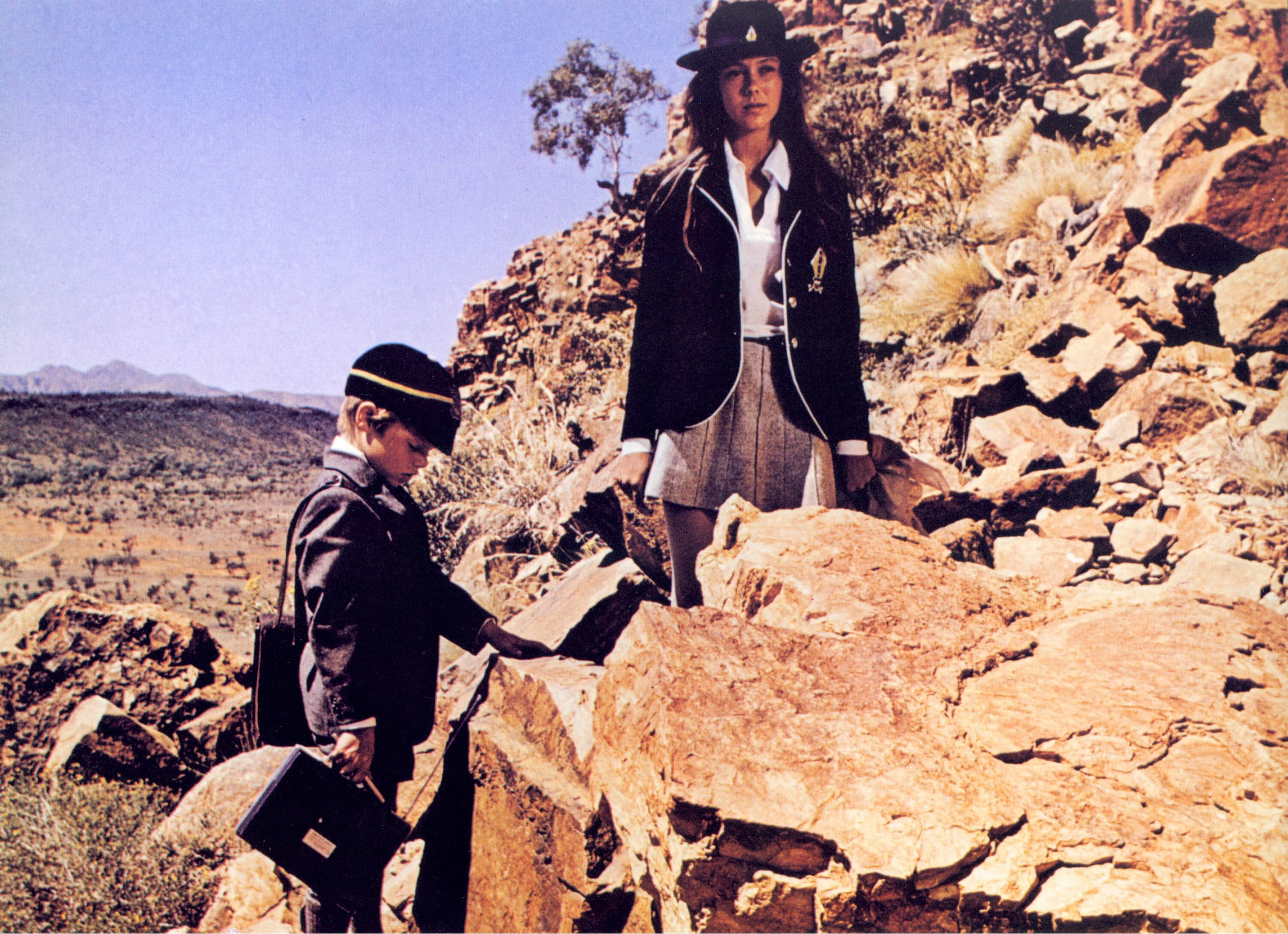 "Still from Nicholas Roeg's ""Walkabout"" - Australia, 1971."