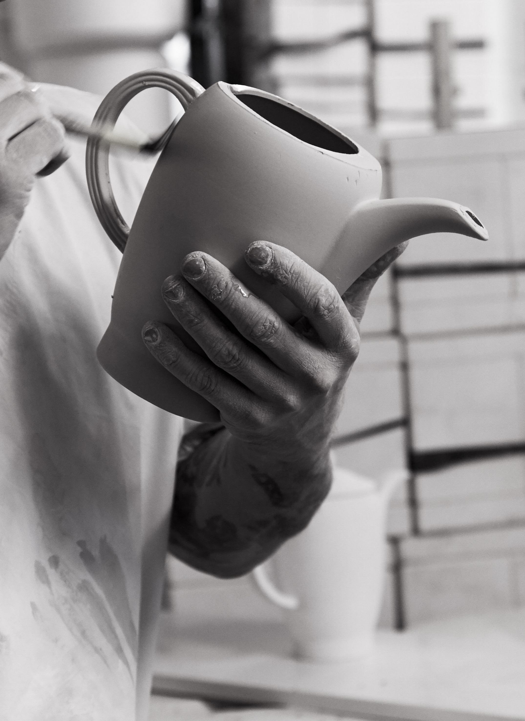Refining the teapot surface.