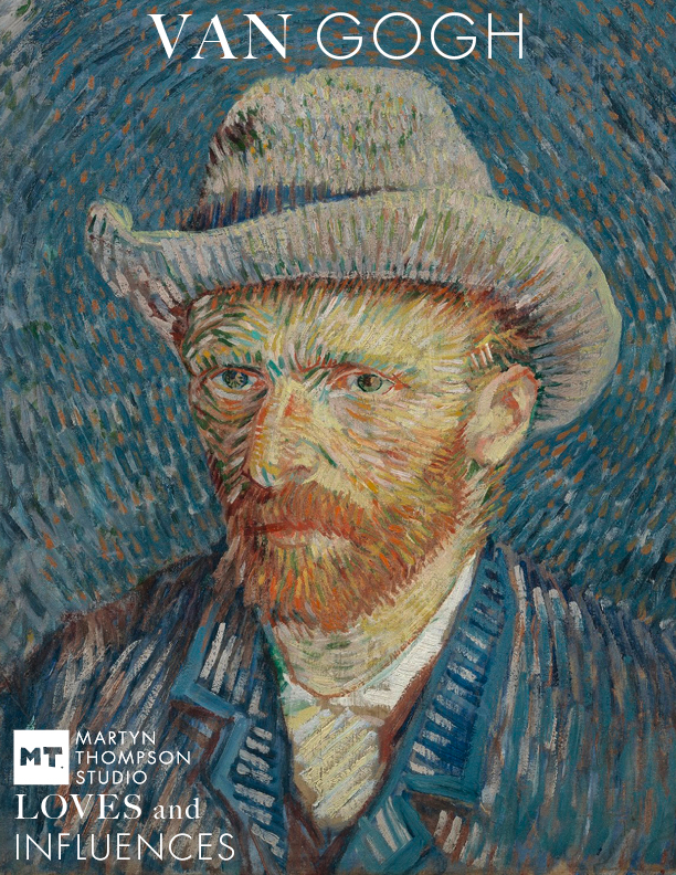 Self-Portrait with Grey Felt Hat. Paris, September - October 1887 Vincent van Gogh (1853 - 1890). Van Gogh Museum