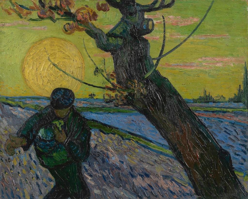 The Sower. Arles, November 1888 Vincent van Gogh (1853 - 1890). Van Gogh Museum, Amsterdam.