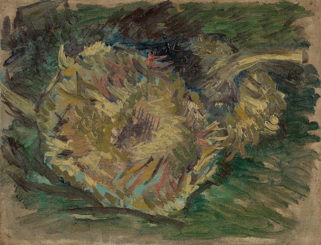 Sunflowers Gone to Seed. Paris, August - September 1887 Vincent van Gogh (1853 - 1890).Van Gogh Museum, Amsterdam