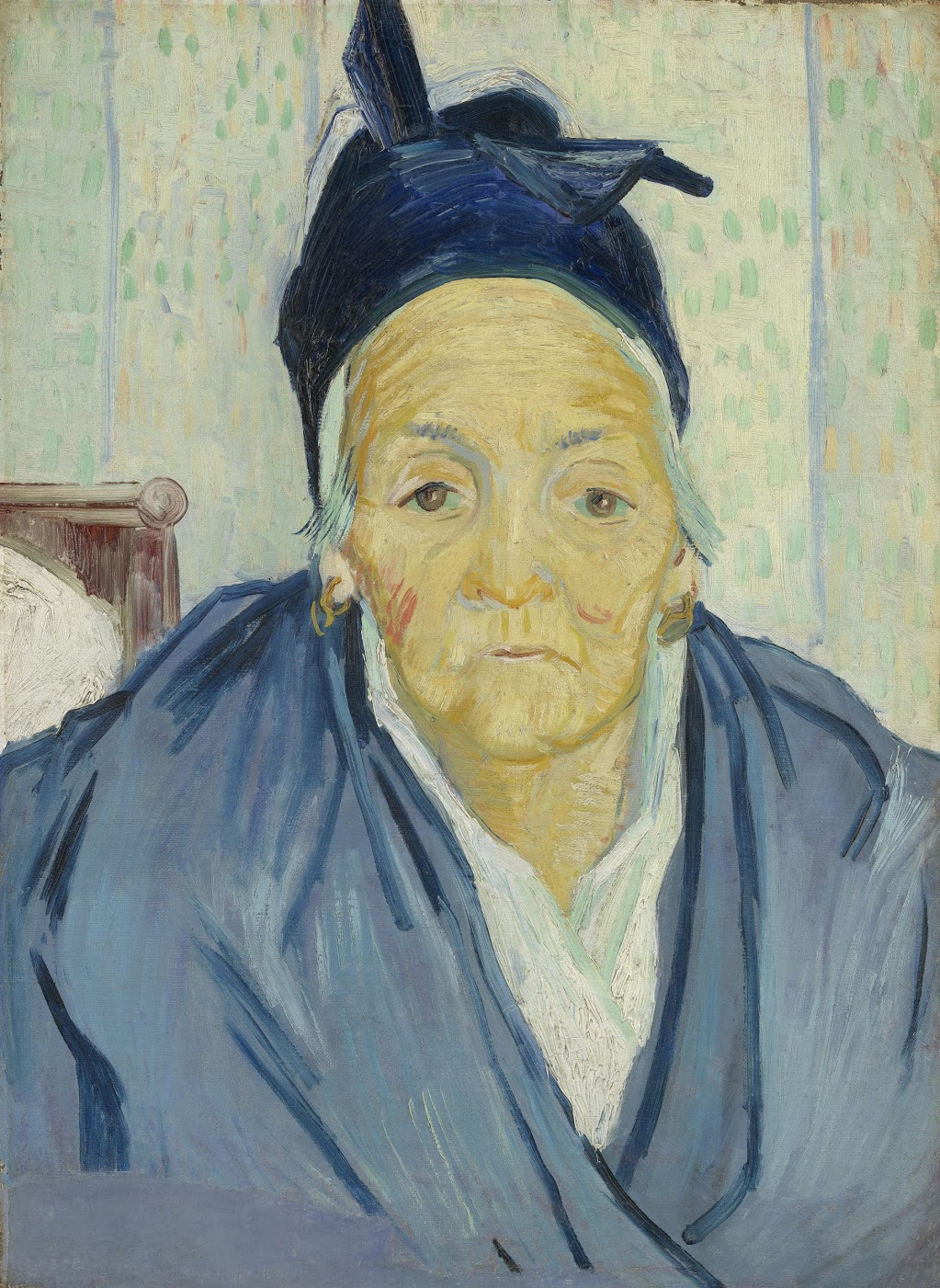 An Old Woman of Arles.Arles, February 1888 Vincent van Gogh (1853 - 1890).Van Gogh Museum, Amsterdam.