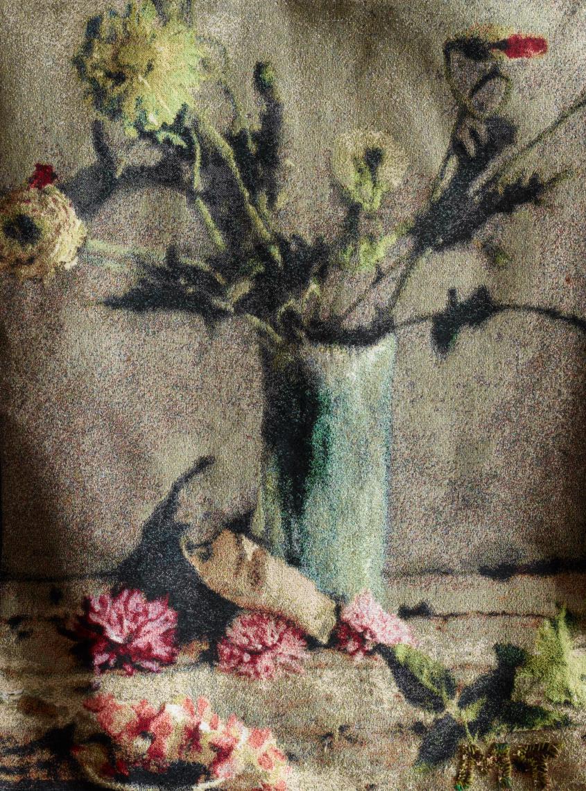 """""""Cherish"""" Tapestry."""