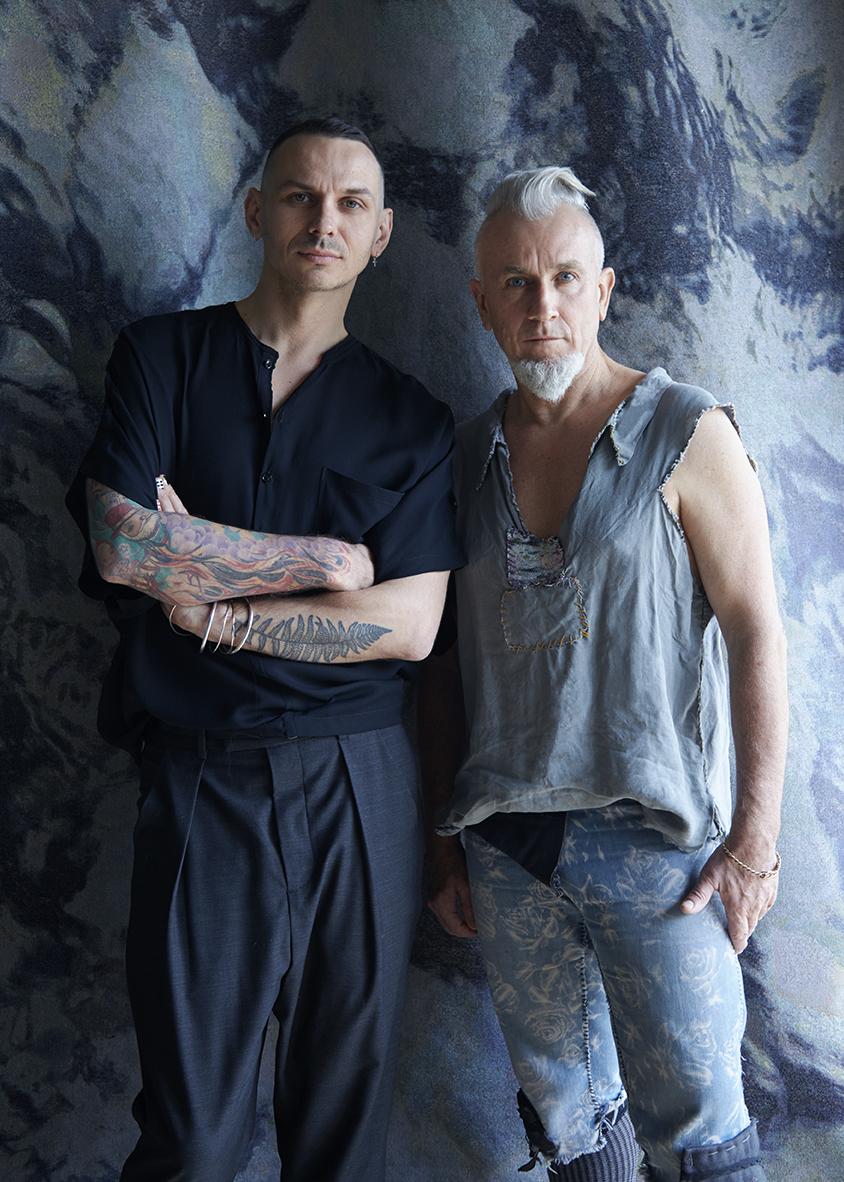 Raf Swiader and Martyn Thompson.