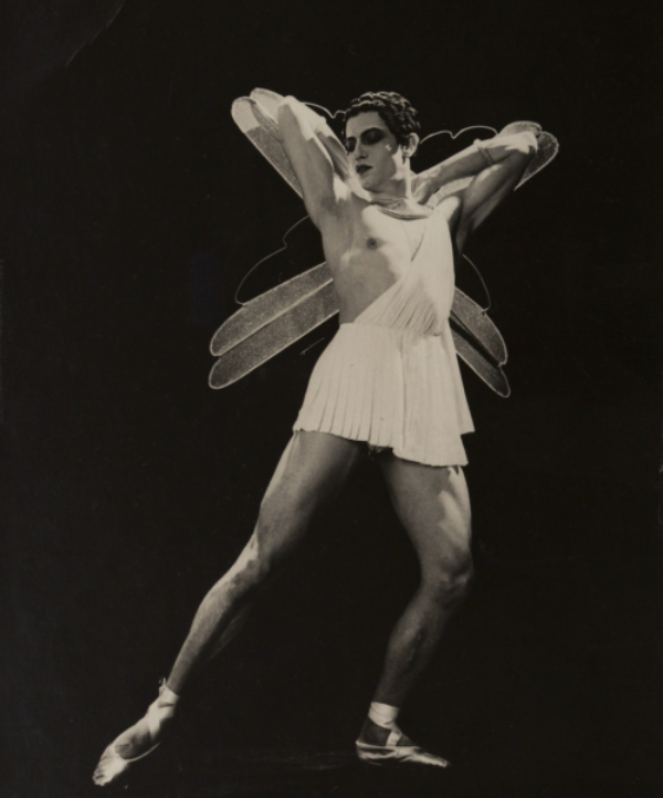 A winged dancer - Serge Lifar in  Icare , 1935